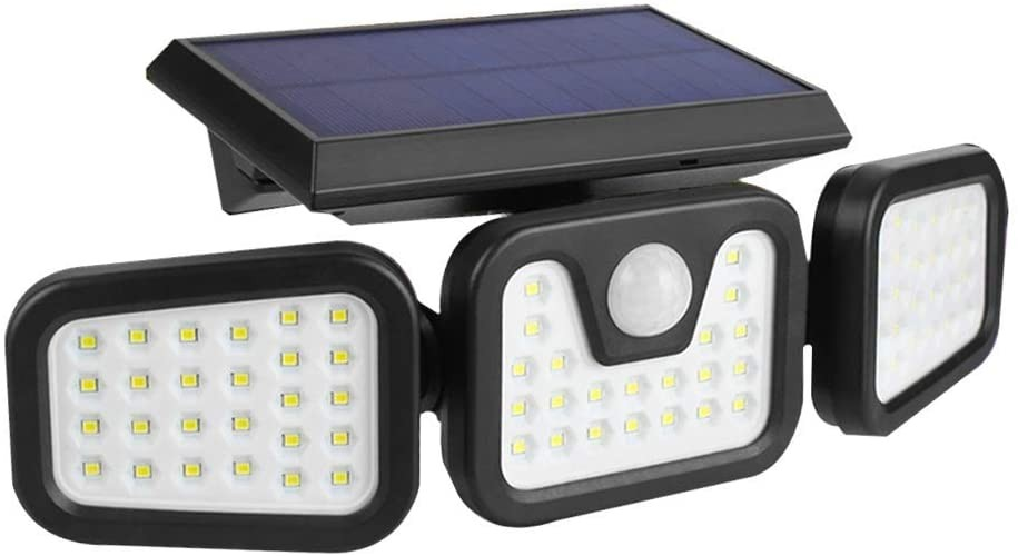Solar Lights Outdoor Yifeng 72led, Motion Detector Led Lights Outdoor